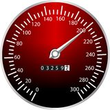Tachometer Stock Photo