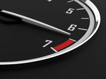Tachometer Royalty Free Stock Photo