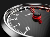Tachometer. 3d rendered illustration 3d Royalty Free Stock Images