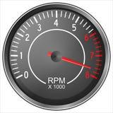 Tachometer Lizenzfreie Stockbilder
