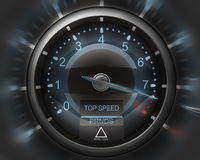 Tachometer  3D render Royalty Free Stock Photography