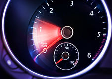 Tachometer of car Royalty Free Stock Photography