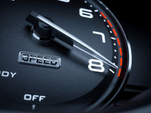 Tachometer stock illustration