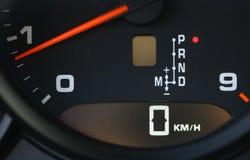 Tachometer detail Stock Photo