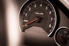Tachometer detail Royalty Free Stock Image