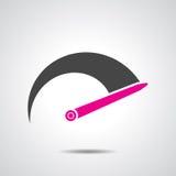 Tachometer icon Stock Image