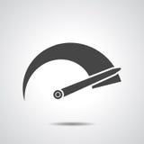 Tachometer icon Royalty Free Stock Photo