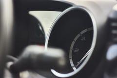 Tachometer. With an Italian car hand. Illustrative detail Stock Photo