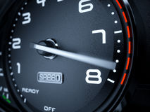 Tachometer max boost Royalty Free Stock Images