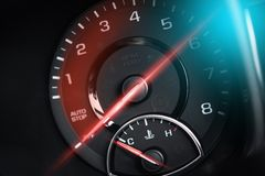 Tachometer RPM Meter Stock Photography