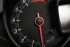 Tachometer RPM Meter Royalty Free Stock Photography
