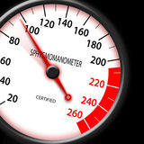 Tachometer style Sphygmomanometer Royalty Free Stock Image