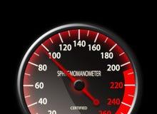 Tachometer style Sphygmomanometer Royalty Free Stock Images