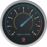 Tachometer Vector Stock Image