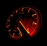 Tachometer. Vector illustration Royalty Free Stock Images