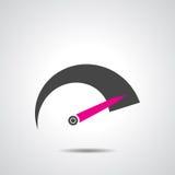Tachometr ikona Obrazy Stock