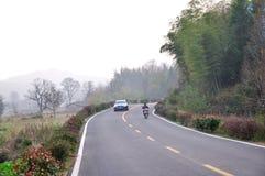 Tachuan village road Stock Photos
