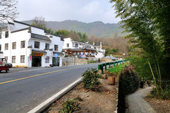 Tachuan village road Royalty Free Stock Photography