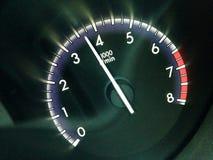 Tachymètre de véhicule Photographie stock libre de droits