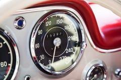Tachymètre de vintage Photo stock