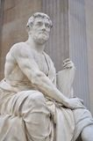 Tacitus sculpture in vienna Stock Photography