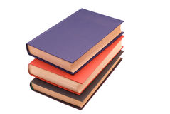Tack of three books Royalty Free Stock Image