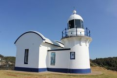 Free Tacking Point Lighthouse 1 Royalty Free Stock Images - 35990989