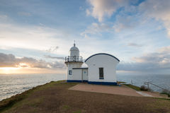 Tacking Point Lighthouse on morning time. Port Macquarie, NSW, A Stock Photos