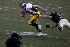 Tackle in american football Royalty Free Stock Images