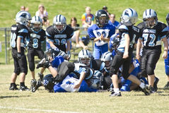 After the Tackle/Little League Royalty Free Stock Images