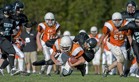 Tackle mid fall Stock Photography