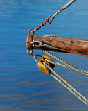 Tackle and ropes Stock Image
