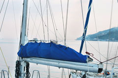 Tackle on a sailboat Royalty Free Stock Photo
