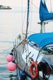Tackle on a sailboat Stock Photos