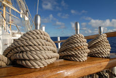 Tackle sailing ship Royalty Free Stock Image