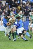 Tackling at RBS 6 Nations Stock Photos