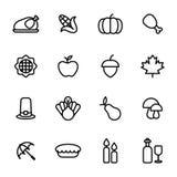 Tacksägelsedagsymbol Arkivfoto