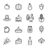 Tacksägelsedagsymbol Arkivfoton