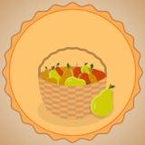 Tacksägelsefestvektor Vektor Illustrationer