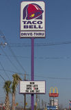taco знаков mcdonalds колокола Стоковые Фотографии RF