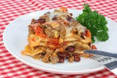taco мексиканца casserole Стоковое Изображение