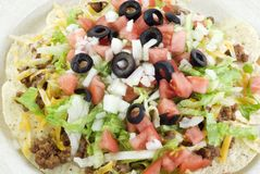 taco салата крупного плана Стоковое Фото