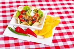Салат Taco Стоковое фото RF