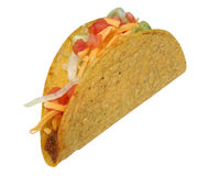 Taco. On a white background Royalty Free Stock Photos