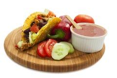Χρόνος Taco Στοκ Εικόνες