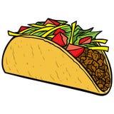 taco royalty ilustracja