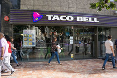 Taco Bell fast food zdjęcia royalty free