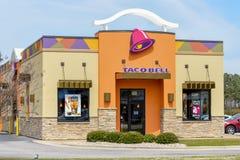 Taco Bell-ingang royalty-vrije stock fotografie