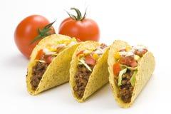 taco délicieux de Mexicain de nourriture Images stock