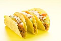 Taco delicioso, alimento mexicano imagenes de archivo
